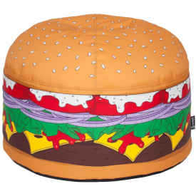 Burger Bean Hand Crafted Bean Bag