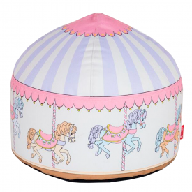 Carousel Hand Crafted Kids Beanbag
