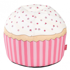 Cherry Cupcake Hand Crafted Kids Beanbag