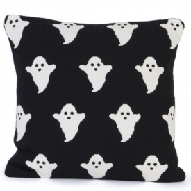 Ghost Cushion in Black & White