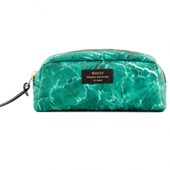 Green Marble Beauty Make up Bag