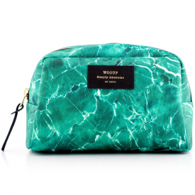 Green Marble Big Beauty Make up Bag