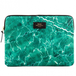 "Green Marble MacBook Pro 13"" Laptop Sleeve"