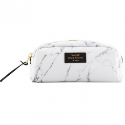 White Marble Beauty Make Up Bag
