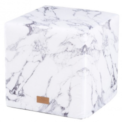 White Marble Hand Crafted Beanbag