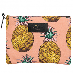 Ananas Pineapple Zipped Large Pouch