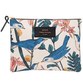 Birdies Zipped Large Pouch