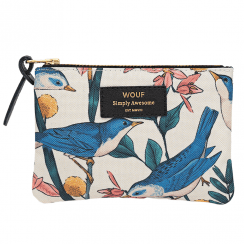 Birdies Zipped Small Pouch