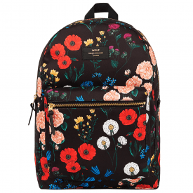 Black Blossom Backpack