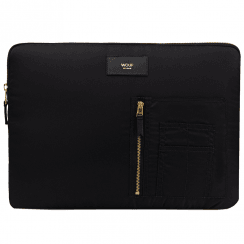 "Black Bomber MacBook Pro 13"" Laptop Sleeve"