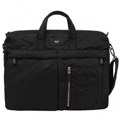 Black Bomber Messenger Bag