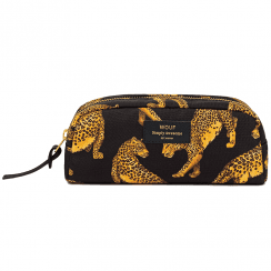 Black Leopard Beauty Make up Bag