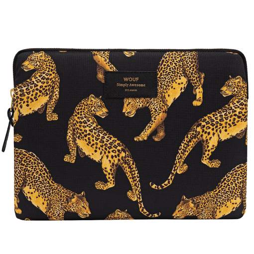 Black Leopard iPad Sleeve