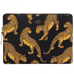 Black Leopard Macbook Pro 13″ Laptop Sleeve