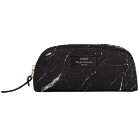 Black Marble Beauty Make up Bag