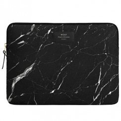 "Black Marble Macbook Pro 15"" Laptop Sleeve"