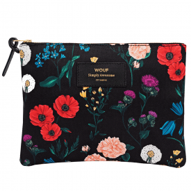 Blossom Zipped Large Pouch