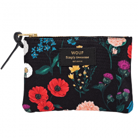 Blossom Zipped Small Pouch