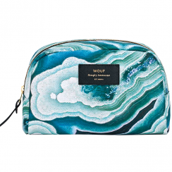 Blue Mineral Big Beauty Make up Bag