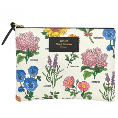 Botanic Zipped Large Pouch