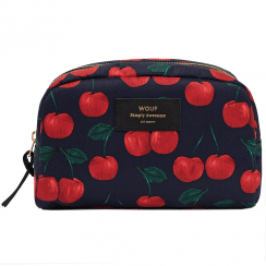 Cherries Big Beauty Make up Bag
