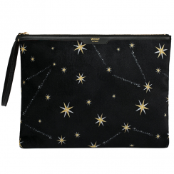 Cosmos Velvet Night Clutch