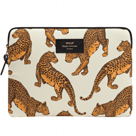 Cream Leopard iPad Sleeve