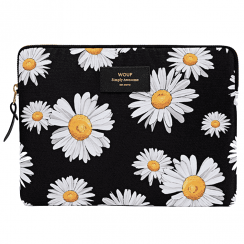 Daisy Black iPad Sleeve