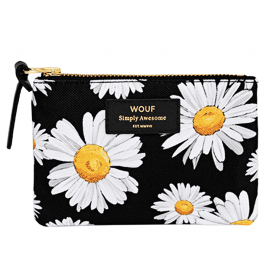 Daisy Zipped Small Pouch