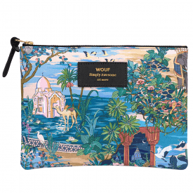 Delhi Zipped Large Pouch