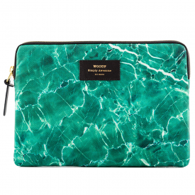 Green Marble iPad Sleeve