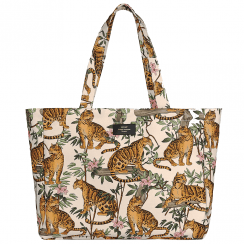 Lazy Jungle Large Tote Bag
