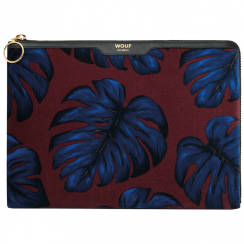 Leaves Velvet iPad Sleeve