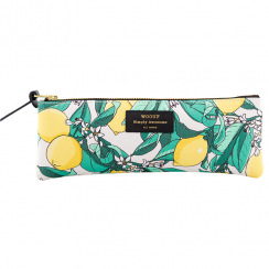Lemon Print Pencil Case
