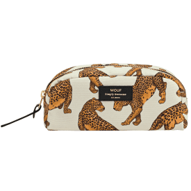 Leopard Beauty Make up Bag