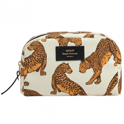 Leopard Big Beauty Make up Bag