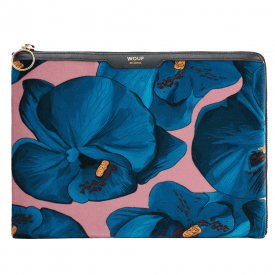 Orchidée Velvet iPad Sleeve