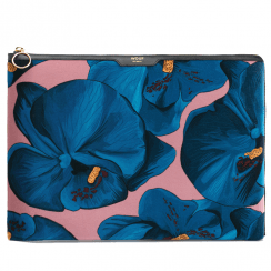 "Orchidée Velvet MacBook Pro 13"" Laptop Sleeve"