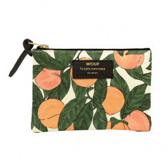 Peach Small Pouch