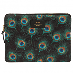 Peacock Feather iPad Sleeve
