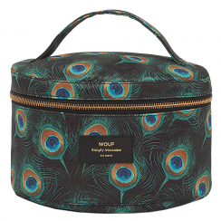 Peacock XL Makeup Bag