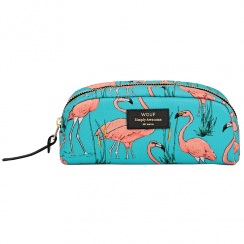 Pink Flamingos Beauty Make up Bag