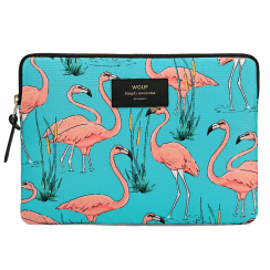 Pink Flamingos iPad Sleeve