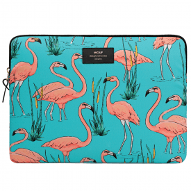 "Pink Flamingos MacBook Pro 13"" Laptop Sleeve"
