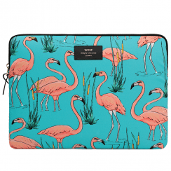 "Pink Flamingos Macbook Pro 15"" Laptop Sleeve"