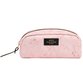 Pink Marble Beauty Make up Bag