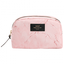 Pink Marble Big Beauty Make up Bag