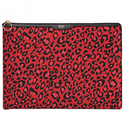 "Red Leopard MacBook Pro 13"" Laptop Sleeve"