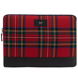 "Red Scotland MacBook Pro 13"" Laptop Sleeve"