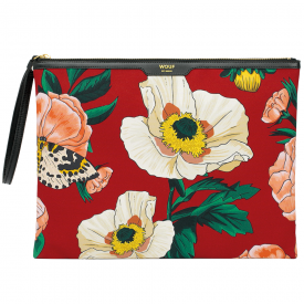 Rouge Jardin Large Clutch